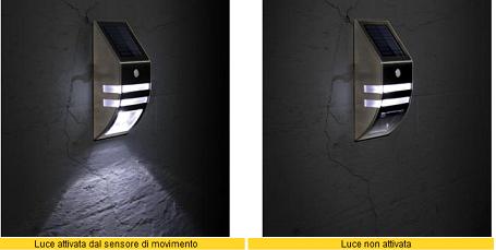 Led pir sensor leovin illuminazione da esterno damastoreitalia