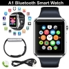 SMARTWATCH A1 OROLOGIO ANDROID IOS CELLULARE BLUETOOTH SIM CARD MICRO SD